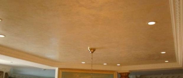 венецианская штукатурка для потолка лучшая