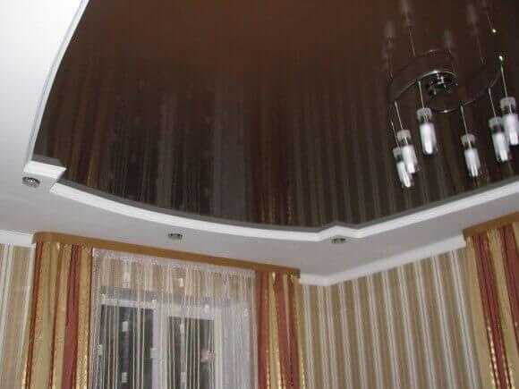 как визуально сделать потолок выше фото