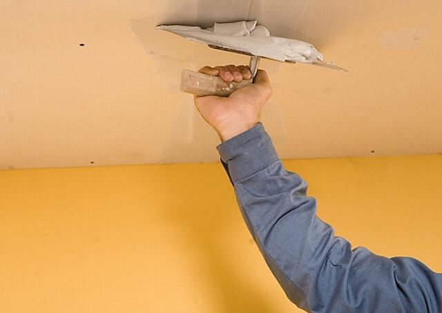 ремонт выравнивание потолка