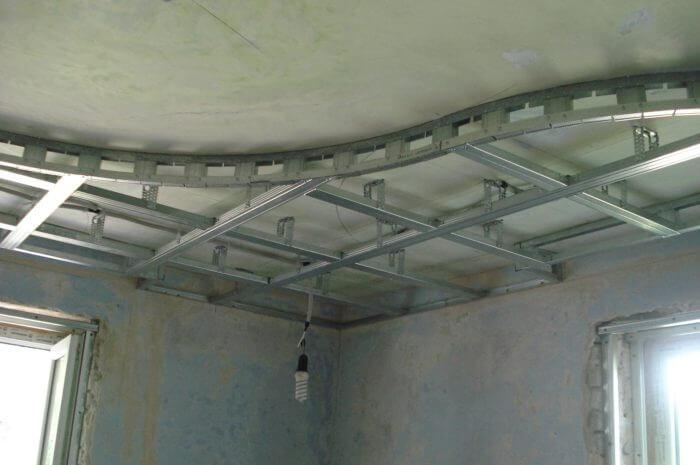 фигурный потолок фото
