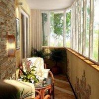 Балконный потолок: гидроизоляция, утепление, отделка