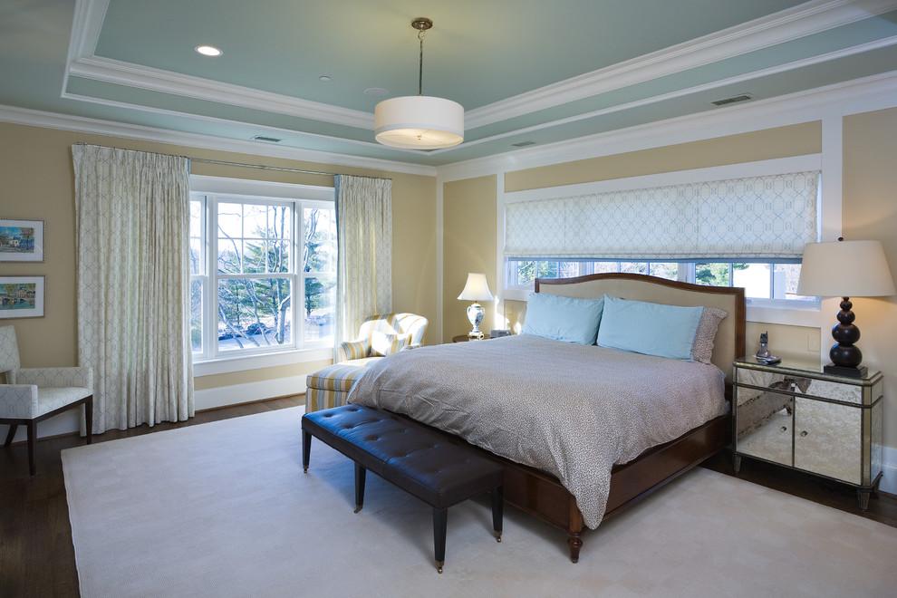 фигурные потолки из гипсокартона в спальне