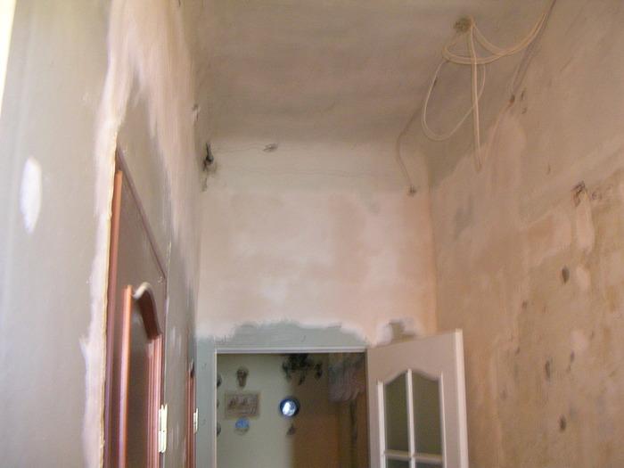 ремонт потолка с закругленными углами