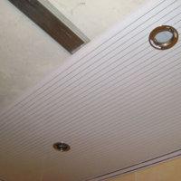 Демонтаж потолка из пластиковых панелей