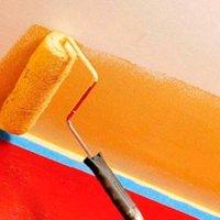 Отделка потолка масляной краской
