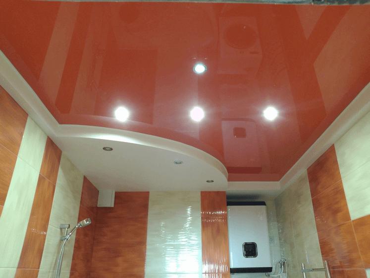 цвет потолка в ванной комнате
