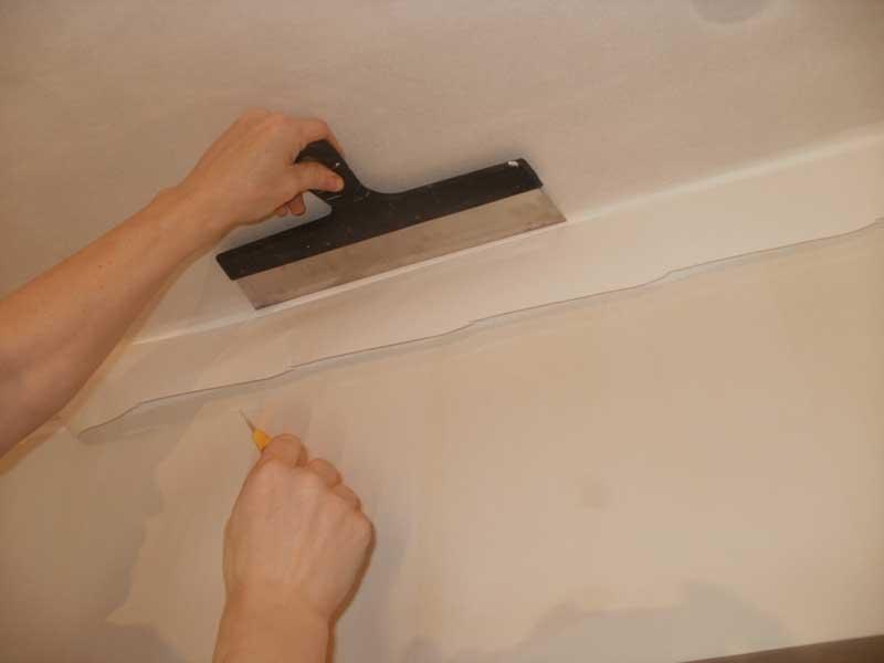 паутинка для потолка под покраску
