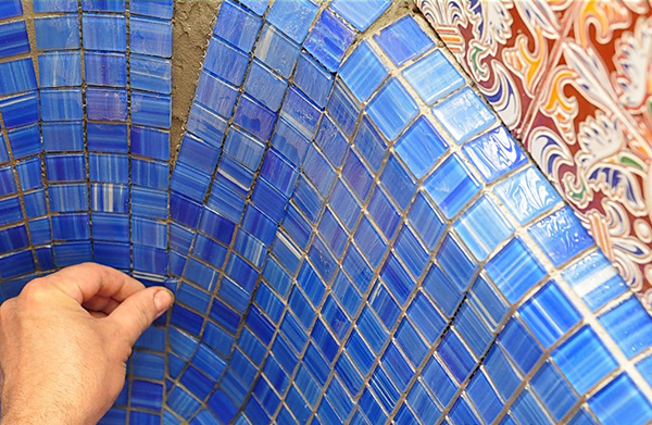 ремонт потолка с закругленными углами плитка