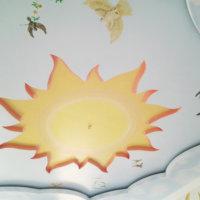 Потолок в детской: популярные варианты отделки