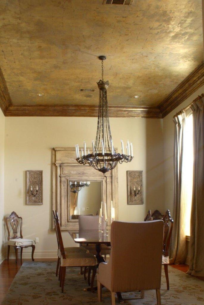 потолок под венецианскую штукатурку