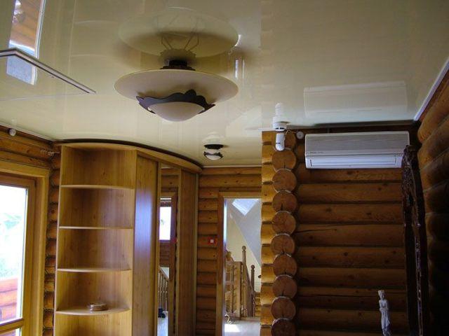 низкие потолки в старом доме дизайн фото