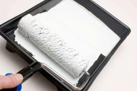 как развести мел для побелки потолка