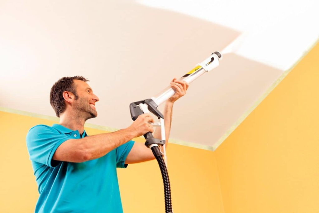 расход краски для потолка