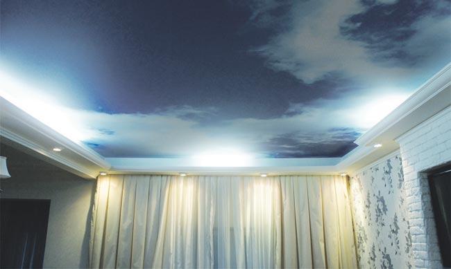 что лучше натяжной потолок или покраска