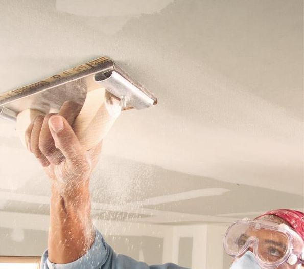 шпаклевка гипсокартонного потолка под покраску