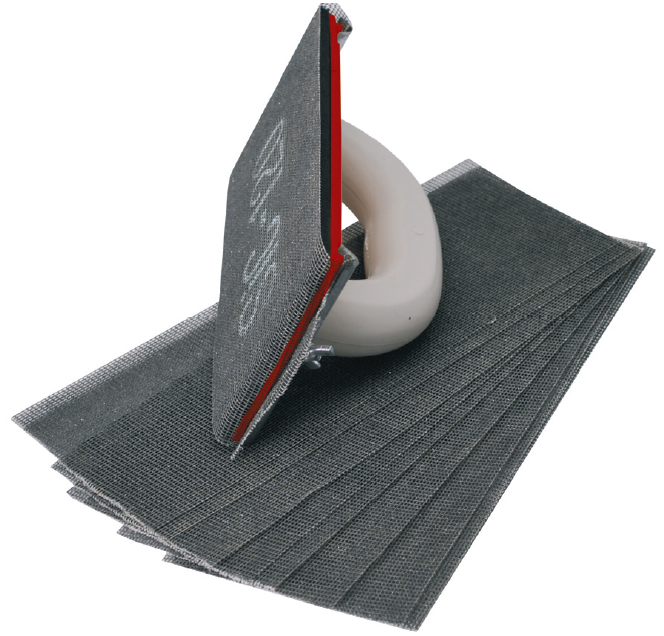 как затирать шпаклевку на потолке