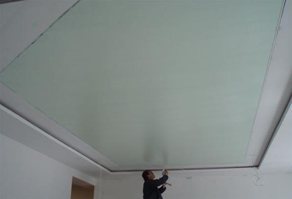 натяжной потолок под покраску