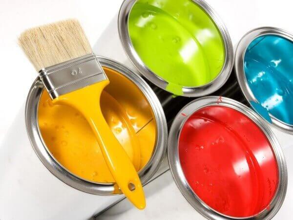 покраска потолка своими руками видео (