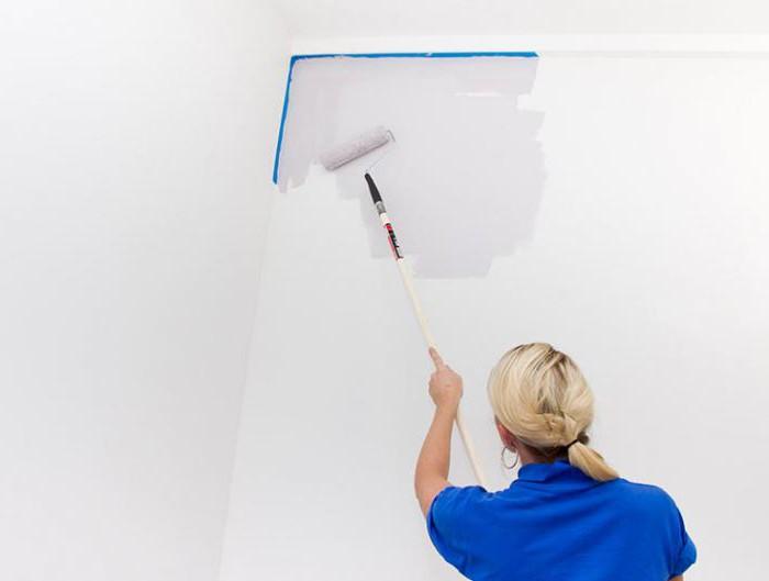 лучшая акриловая краска для потолка