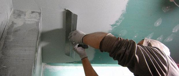 как замазать потолок шпаклевкой