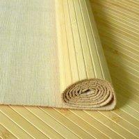 Отделка стен и потолка бамбуковым полотном