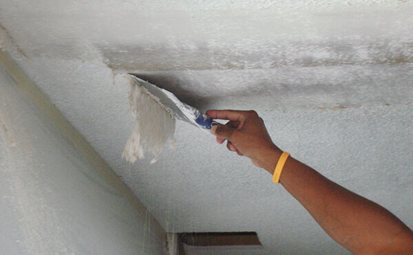 инструмент для удаления шпаклевки с потолка