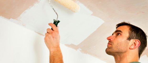 сколько раз грунтовать потолок перед покраской