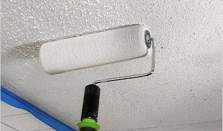 Как побелить потолок своими руками не смывая фото 963