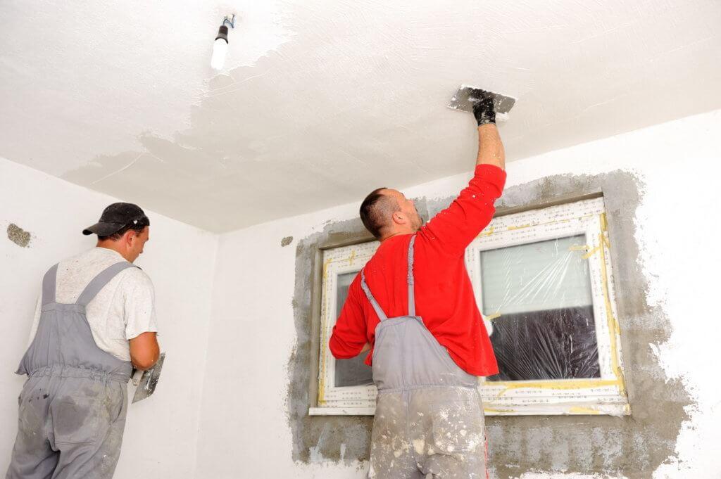 шпаклевание гипсокартонного потолка под покраску