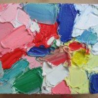 Как удалить с потолка масляную краску