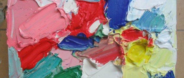 как очистить потолок от масляной краски