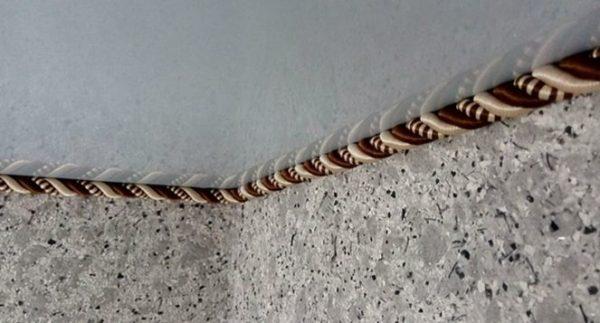 шнур для отделки потолков