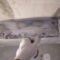 Подготовка бетонного потолка к покраске