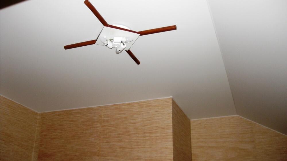 расчет размера полотна натяжного потолка