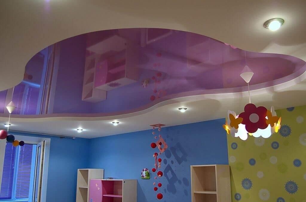 цвет потолка