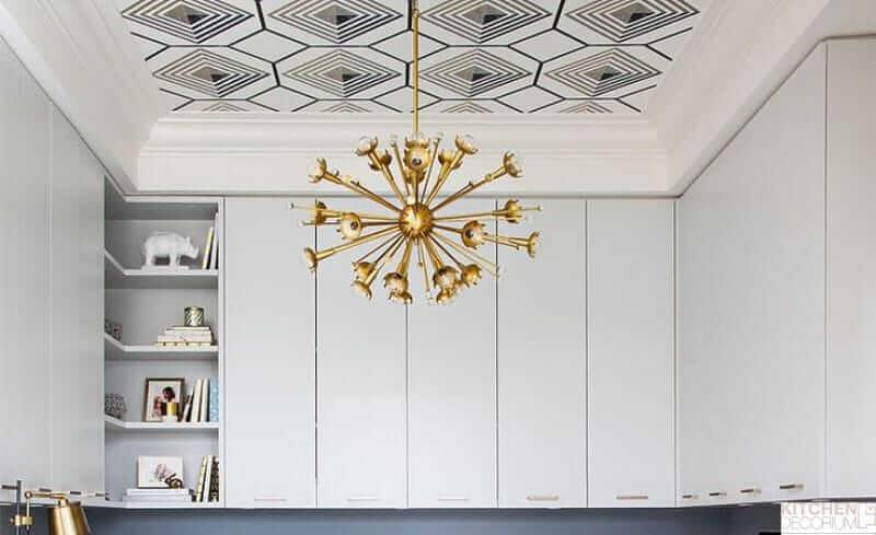 ремонт кухни потолок из какого материала