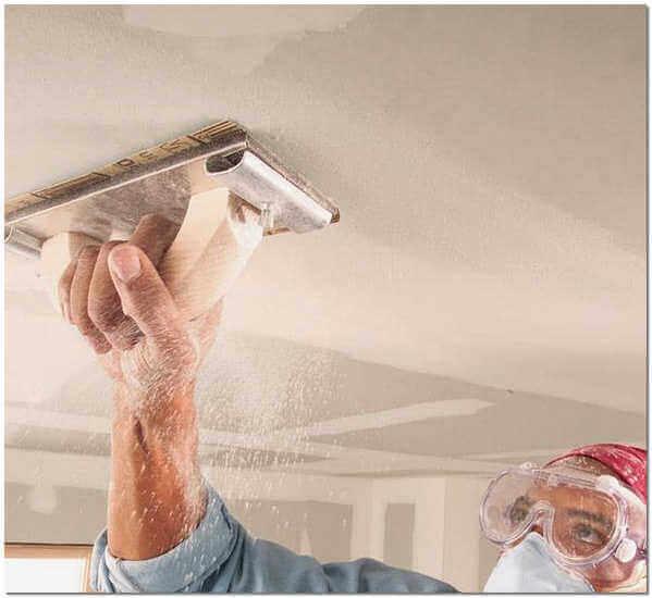 покраска бетонного потолка акриловой краской без шпаклевки