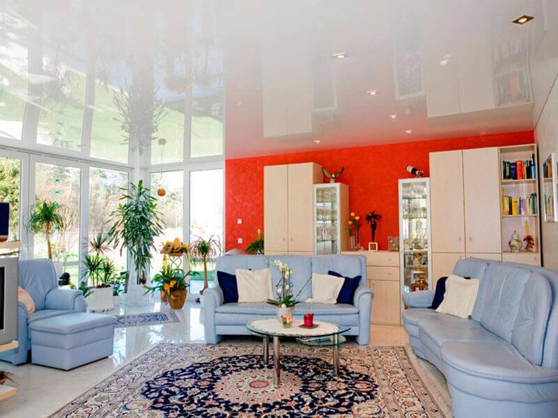 подобрать цвет натяжного потолка