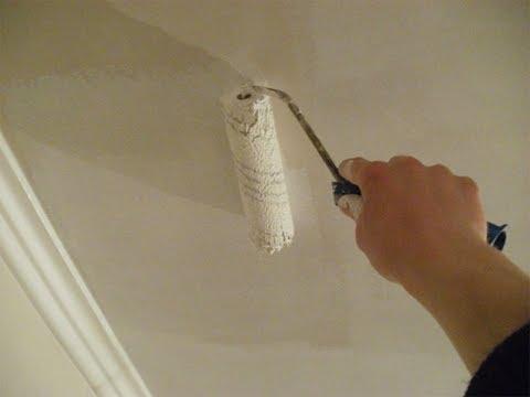 Подготовка потолка под покраску своими руками фото 931