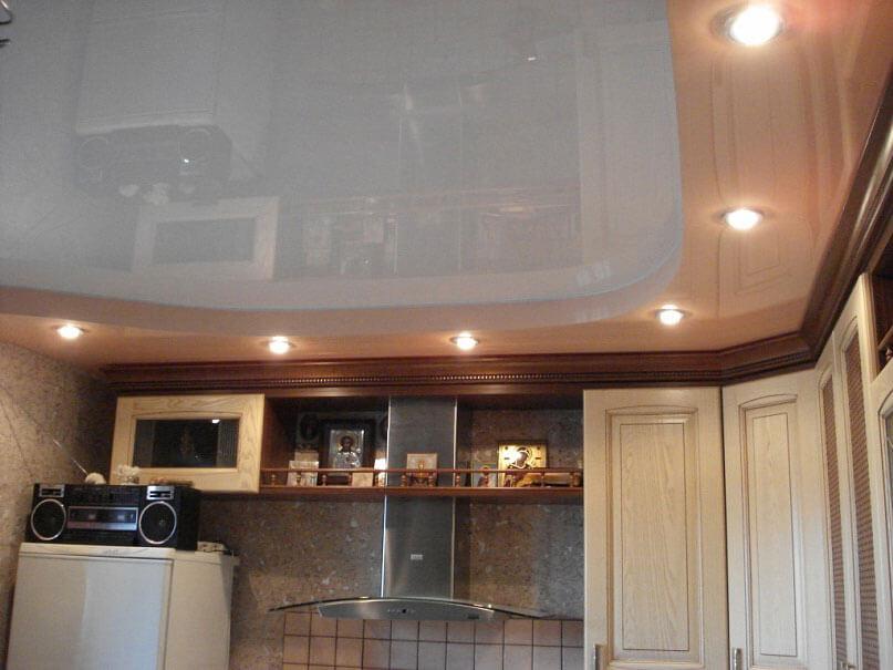 Потолок пвх на кухне своими руками фото 942