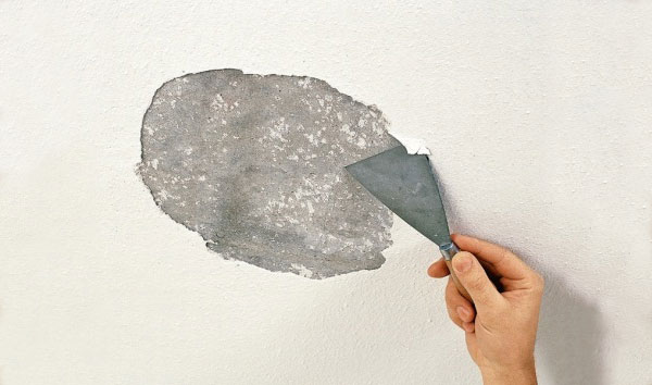 шпаклевка для потолка по бетону