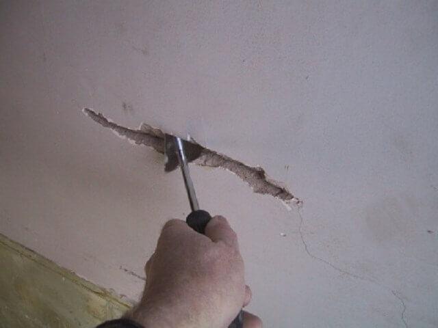 основы шпаклевки бетонного потолка