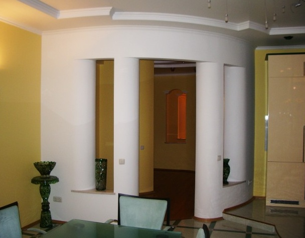 колонна из гипсокартона своими руками