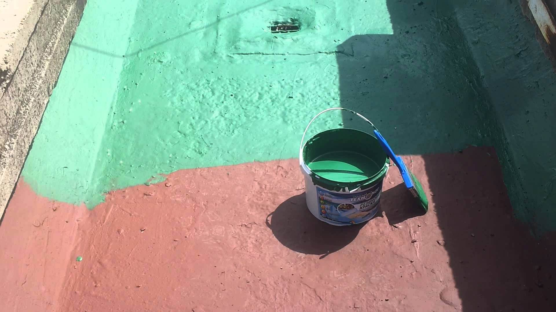 прорезиненная краска для потолков и коммуникаций