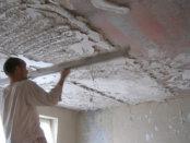 гипсовая штукатурка для потолка