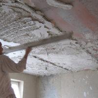 О гипсовой штукатурке для потолка