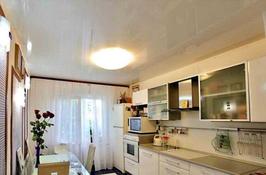 ремонт потолка на кухне своими руками