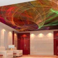 3D потолки — натяжные и подвесные