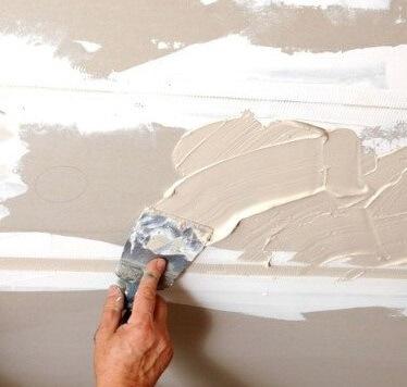 можно красить потолок без шпаклевки