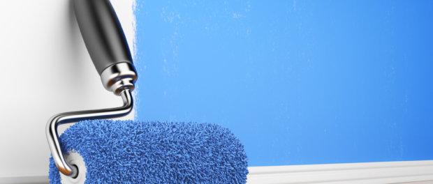 косметический ремонт потолка водоэмульсионной краской